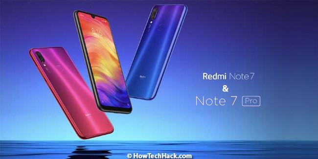 Redmi Note 7 & Note 7 Pro