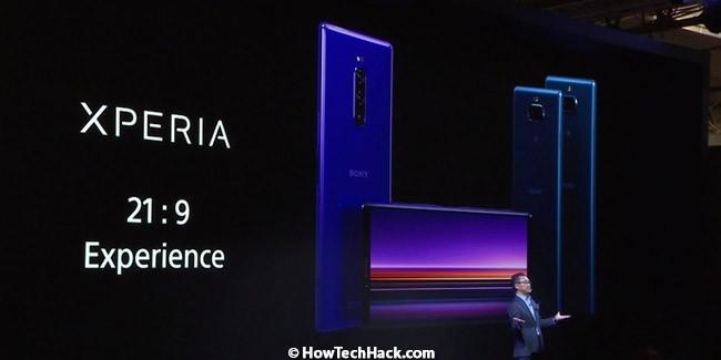 Sony Xperia 1, 10 & 10 Plus