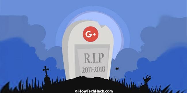 Google+ Shutting Down