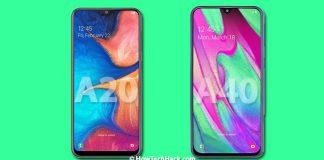 Samsung Galaxy A20 & A40