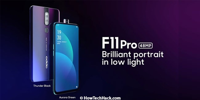 OPPO F11 Pro With Front Pop-Up Camera Launched In India