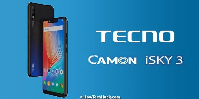 Tecno Camon iSky 3