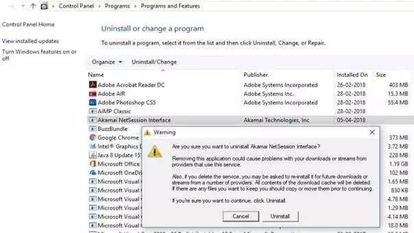 akamai netsession interface should i remove it