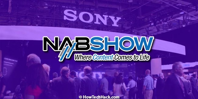 Sony NAB Show 2019