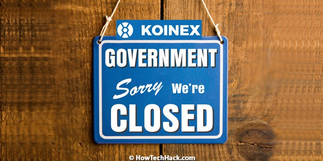 Koinex ShutDown
