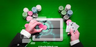 Poker is playable from nearly any smartphone