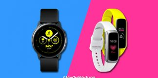 Galaxy Watch Active & Galaxy Fit