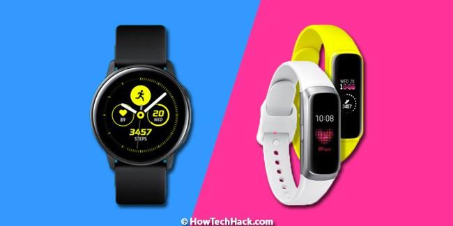 Galaxy Watch Active & Galaxy Fit