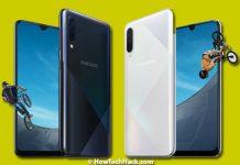 Samsung Galaxy A50s & A30s