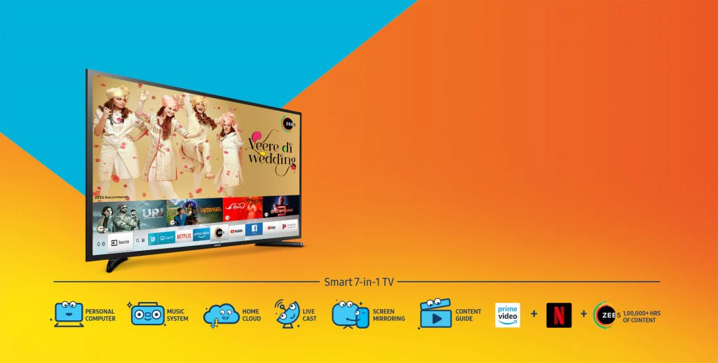 Samsung Smart 7-in-1 TVs