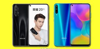 Honor 20s & Honor Play 3