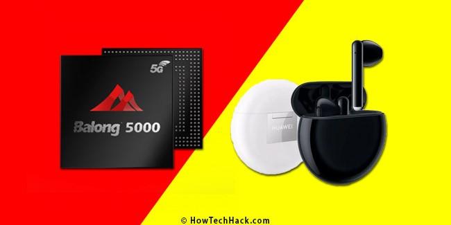 Kirin 990 SoC & Freebuds 3