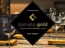 Zomato Extends Gold Membership