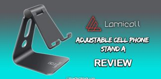 Lamicall Adjustable Cell Phone Stand A [REVIEW]