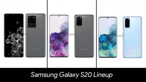 Samsung Galaxy S20 Lineup Leaked