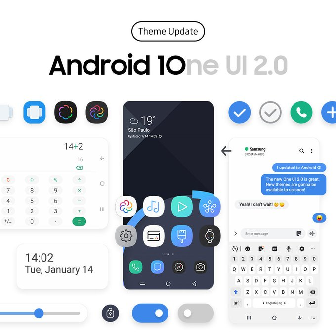 All of Samsung's S20 lineups will come in with Samsung One UI 2.0 based on Android 10