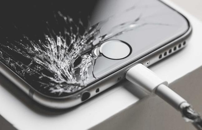 Apple Phone (Screen Broken)