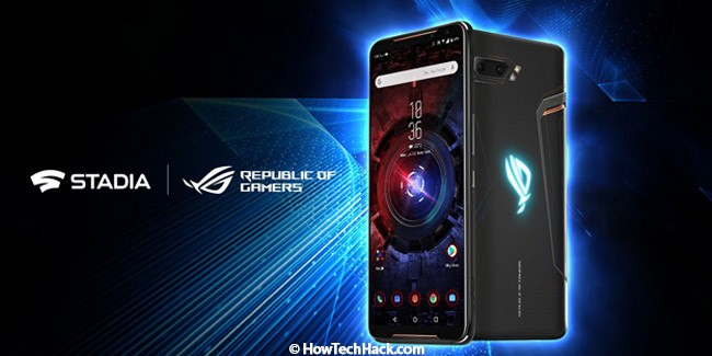 Asus's Rog Phone 3 is said to come with Google Stadia Preinstalled!
