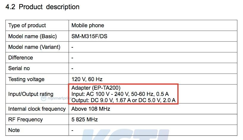 Galaxy-M31-FCC-Fast-Charge