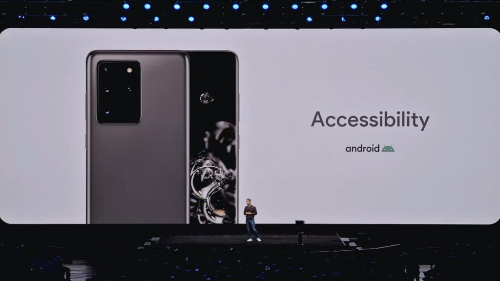 Google has announced that theri live caption feature will also be coming in Samsung's new flagship S20 models