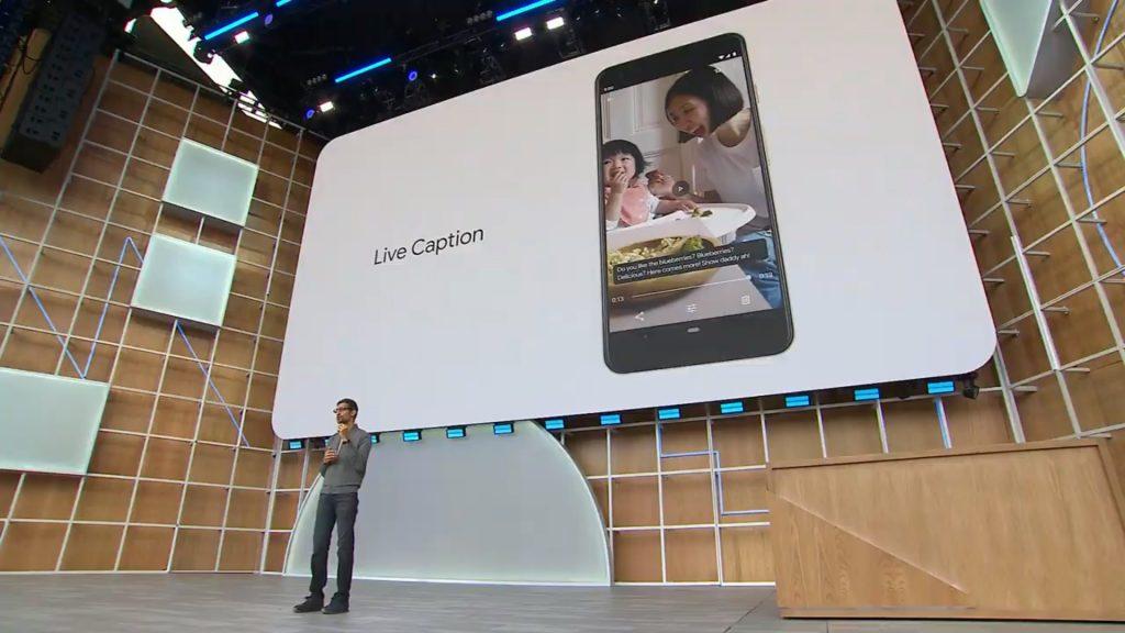 Live Caption Feature