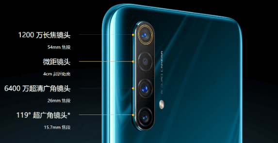 Realme-X50-5G With its Quad Camera Configuration