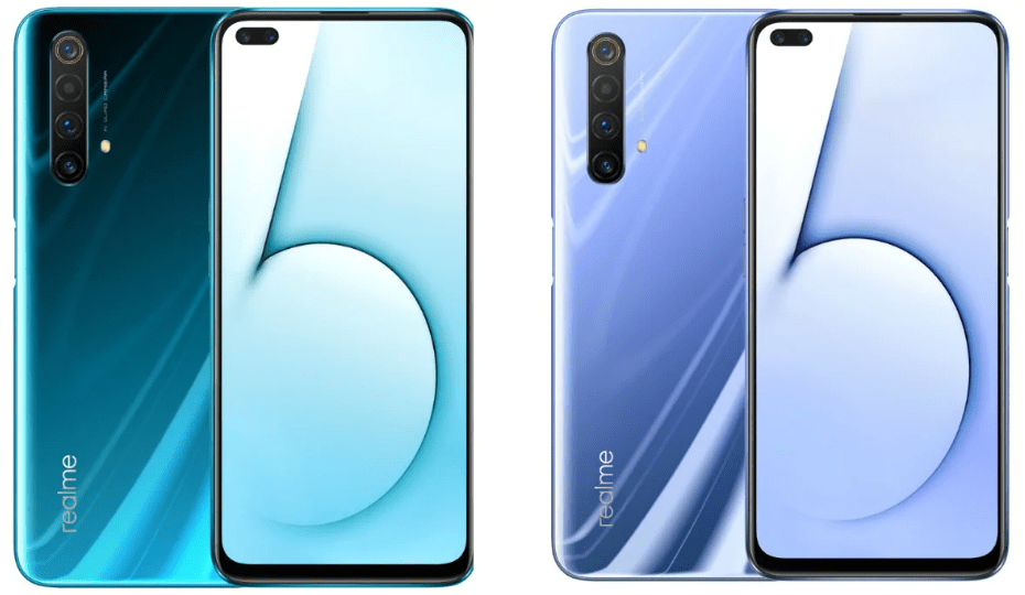 Realme-X50-5G with two colours