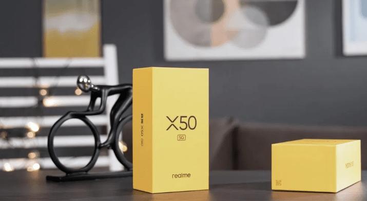 Realme X50 Pro 5G BOX