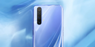 Realme X50 Pro 5G backside