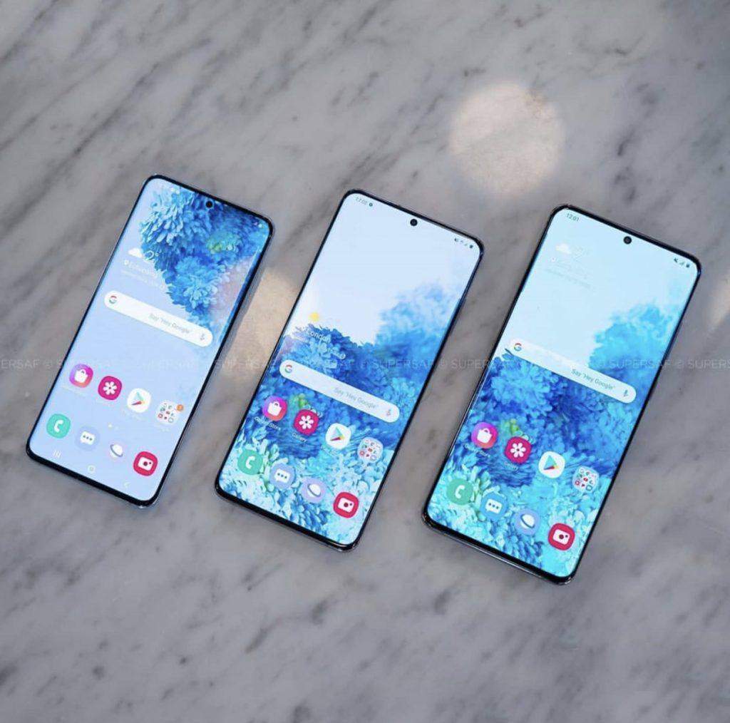 Samsung Galaxy S20, Samsung Galaxy S20 and Samsung Galaxy S20 Ultra's Huge Screen