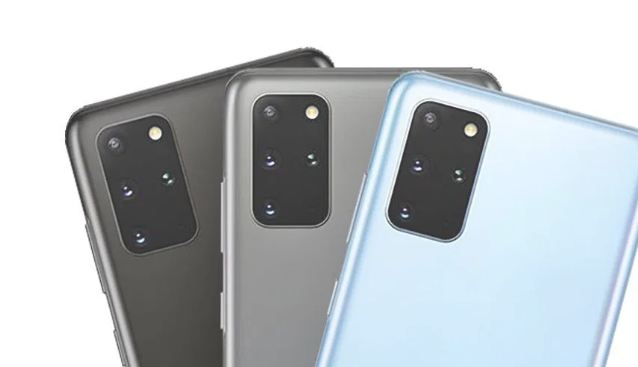 Samsung Galaxy S20+ with its trio camera