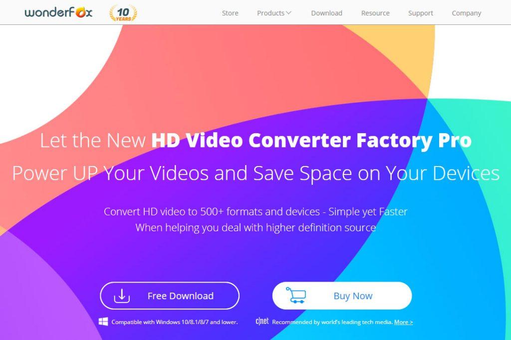 Install HD Video Converter Factory Pro