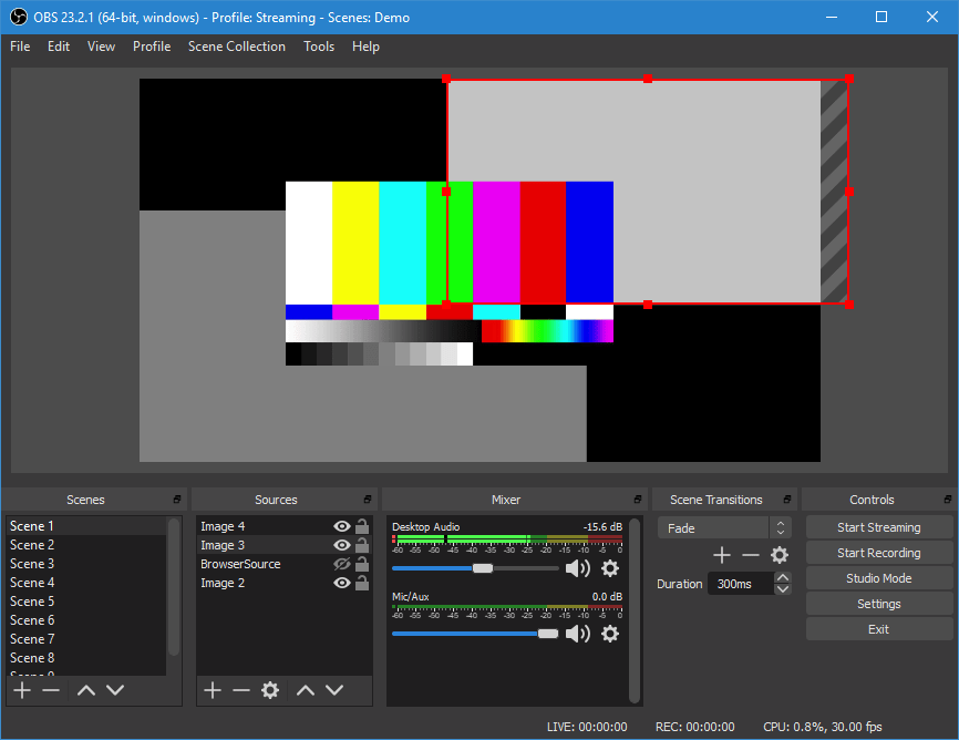 Open Broadcaster Services (OBS)