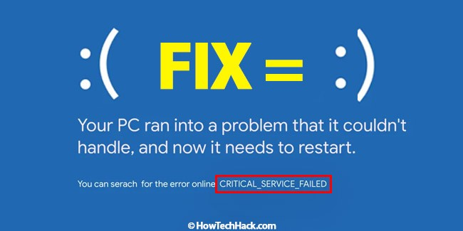 CRITICAL_SERVICE_FAILED