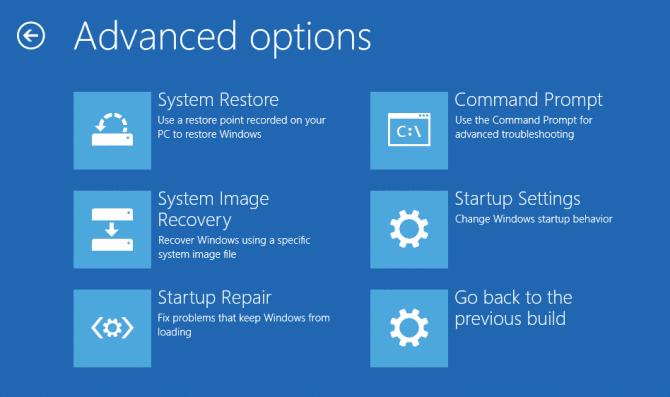 Run Startup Repair