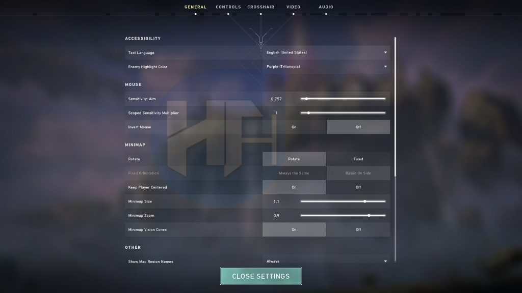 Adjust and Mix and Match with your Settings
