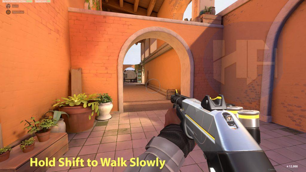 Make sure you walk