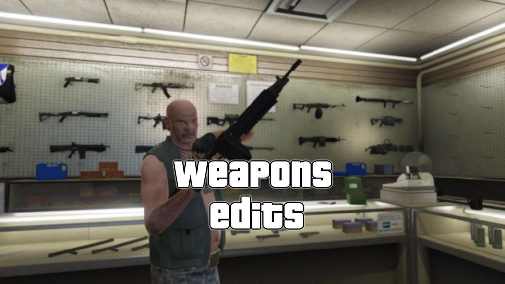 Vanilla Weapon