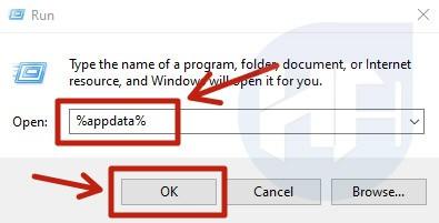 discord appdata run