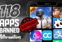 118 Apps Banned in India