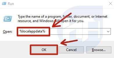 Delete LocalAppData