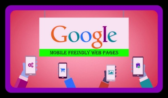 mobile friendly web pages