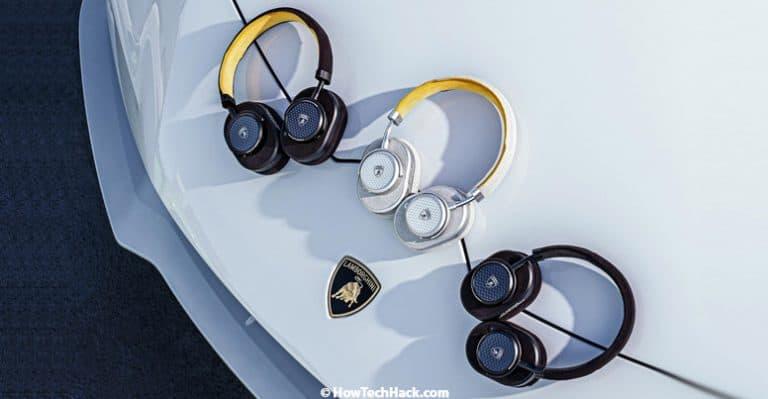 Automobili Lamborghini partners with Master & Dynamic to create a co-branded range of Headphones & Earphones