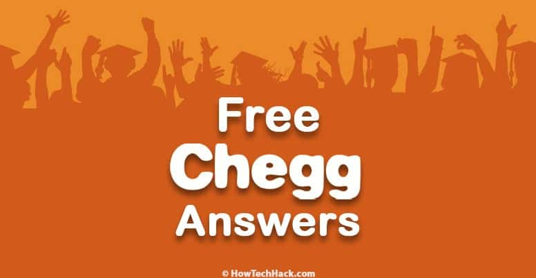 Chegg Answers Free