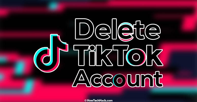 Permanently Delete Tiktok Account